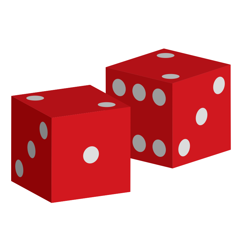 Dice clipart colored dice. Co can red downloads