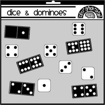 domino clipart dice