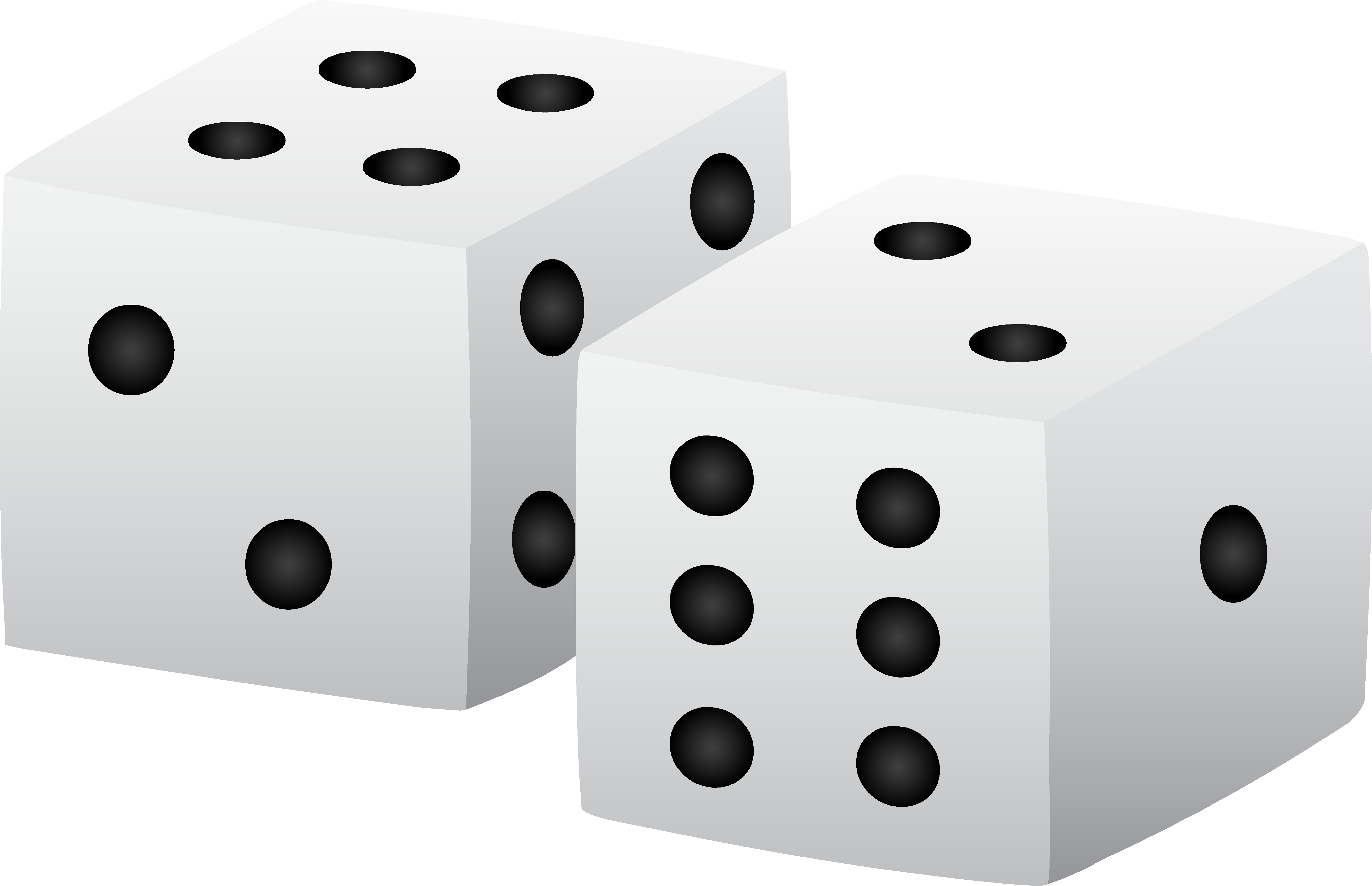 Dice clipart domino. Black and white whiteclouds