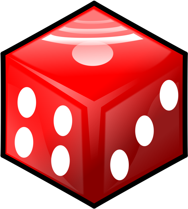 Dice clipart four. Gambling casino game sided