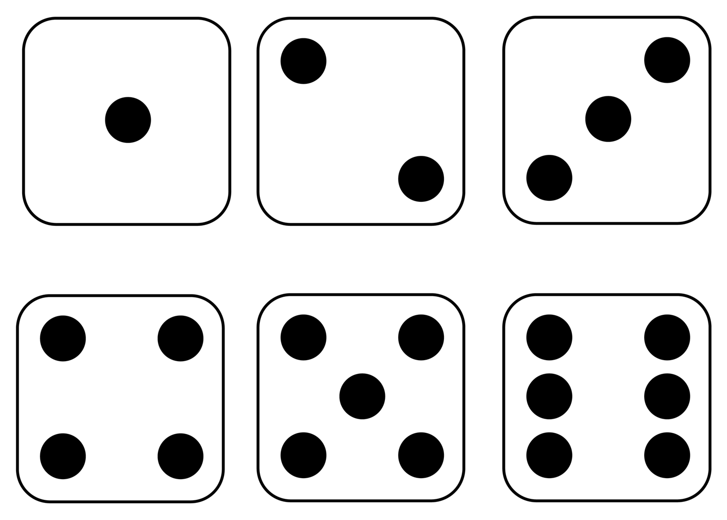 Dice clipart number 4. Free images download clip