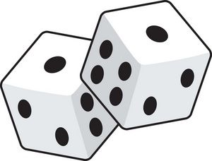 Dice clipart outline. Image with borders pinterest