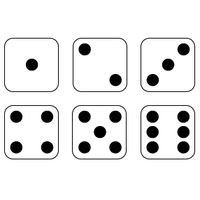 Dice clipart three. Download category png and