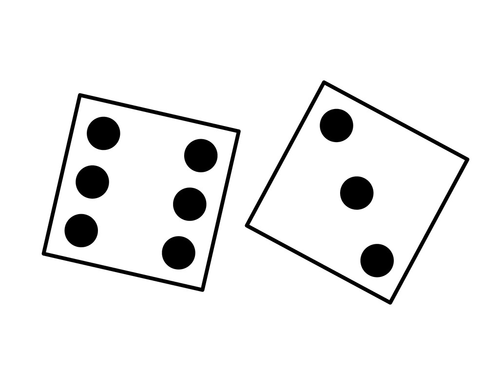 Dice clipart three. Reactiongif me rolling