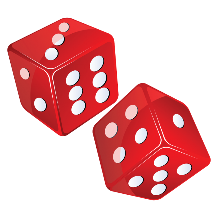 Dice clipart vector. Free download png psd