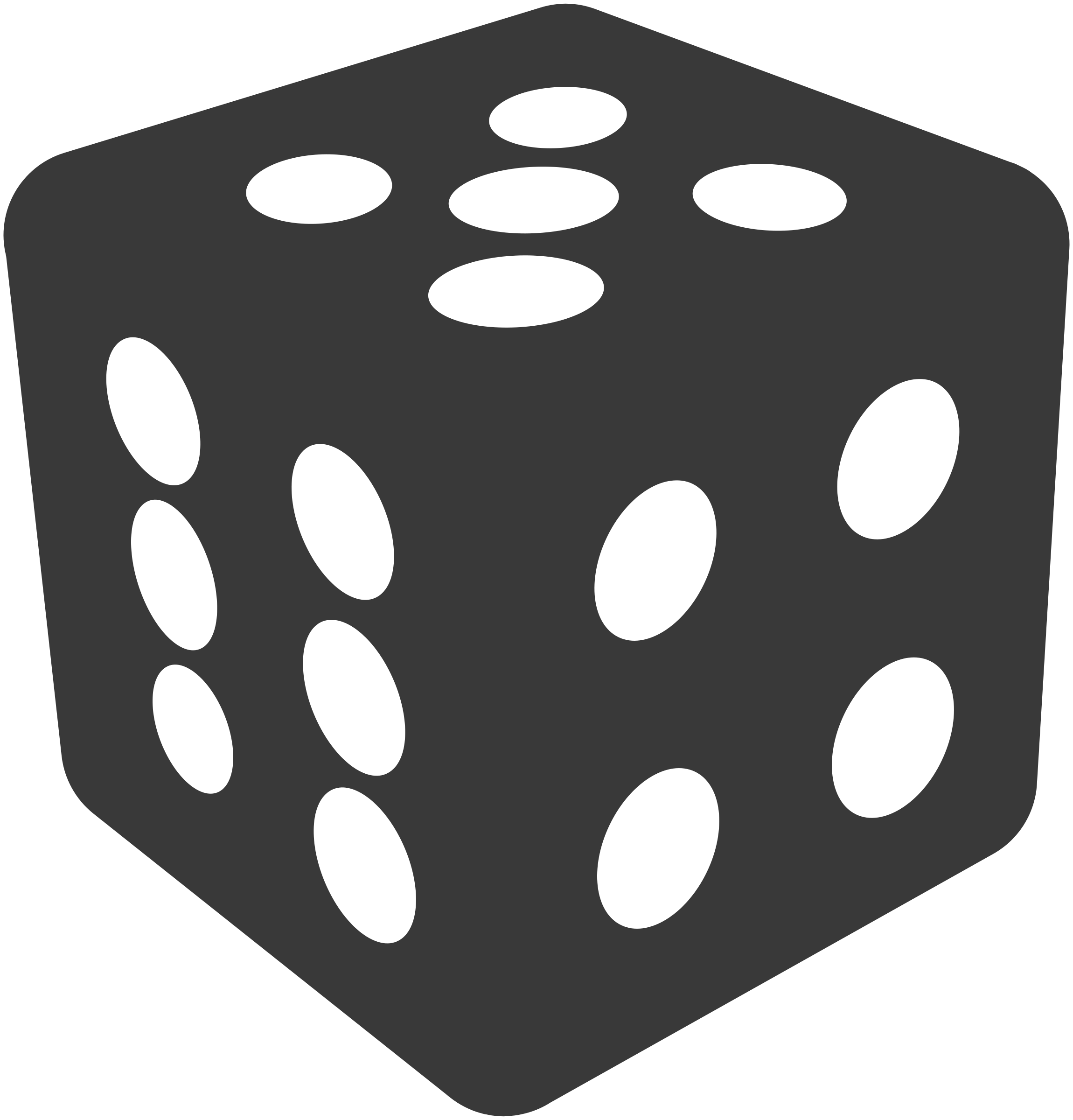 dice clipart four