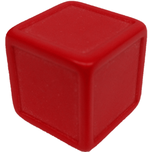 Dice png blank. Galaxy d indented red