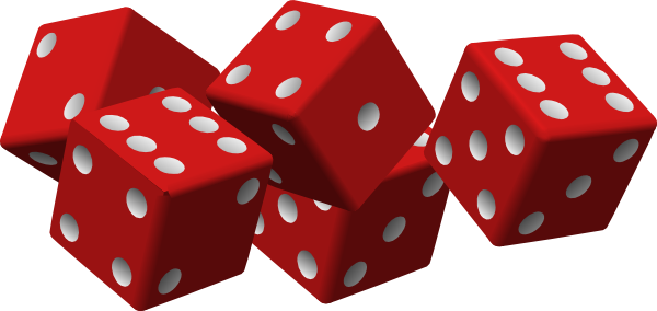 Dice png colorful. Red clip art at