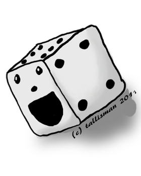Dice png cute. By tallybaby on deviantart