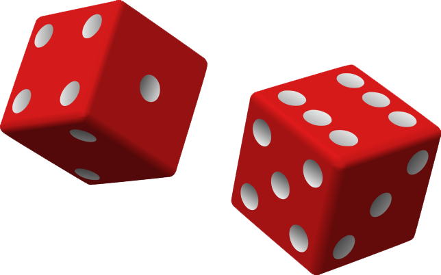 Dice clipart transparent. Free png images download