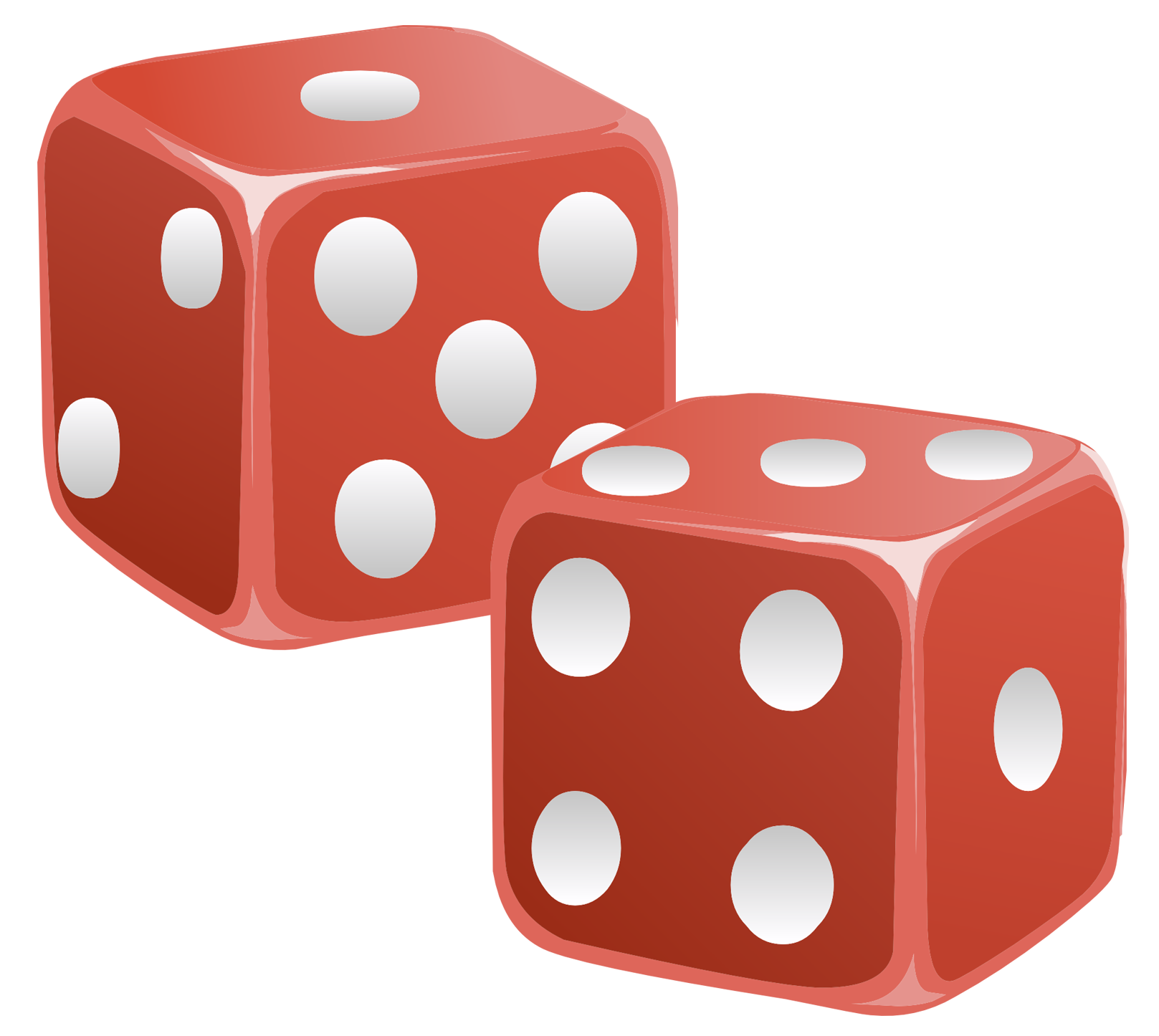 dice png orange