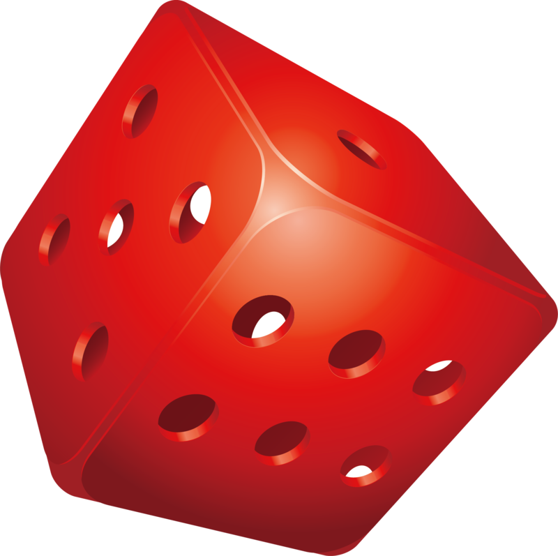 Dice png orange. Download free image with