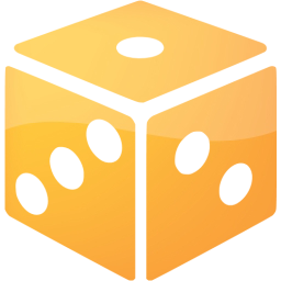 Dice png orange. Web icon free gamble