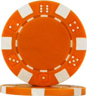 Dice png orange. Download poker chips red