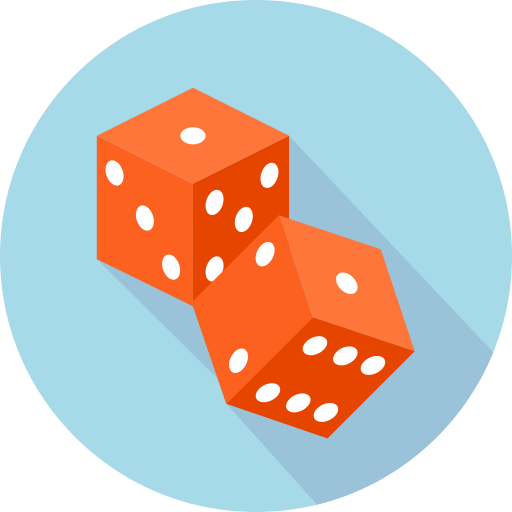 Dice png orange. Icon repo free icons
