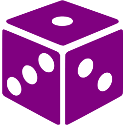 Dice png purple. Icon free gamble icons
