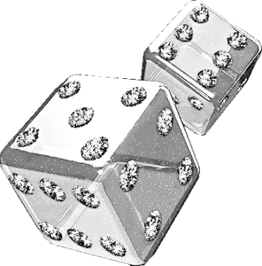 dice png silver