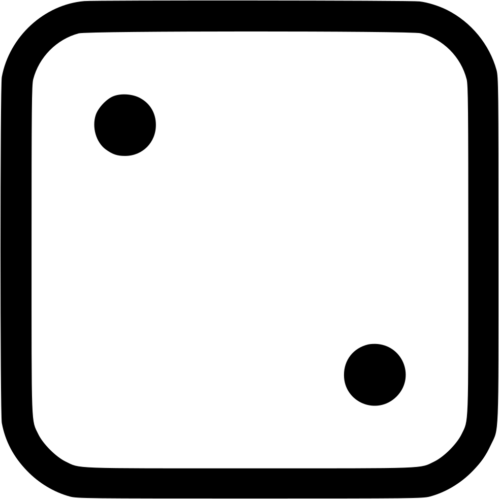 Dice png two. Svg icon free download