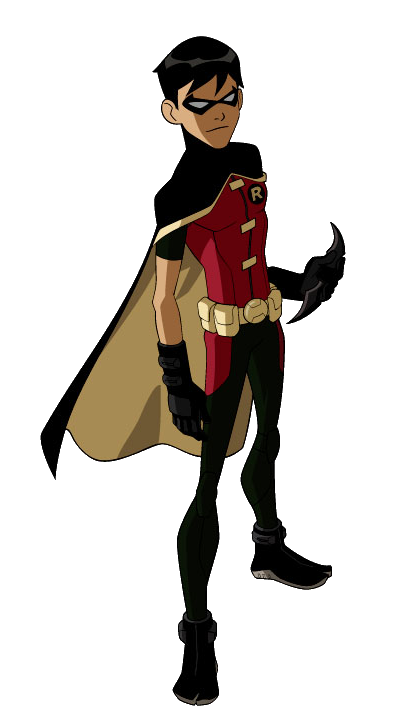 Robin png. Image model young justice clip art