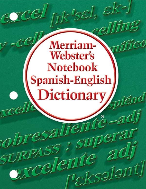 Dictionary clipart dictionary spanish. Buy merriam webster s