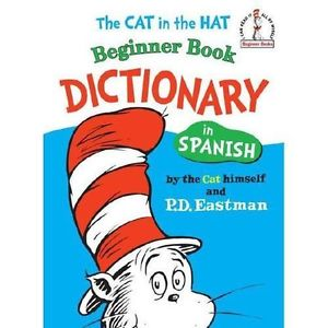 Dictionary clipart dictionary spanish. Beginner books the cat