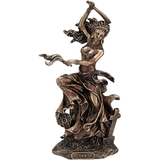 Diety statue png. Oshun goddess of love