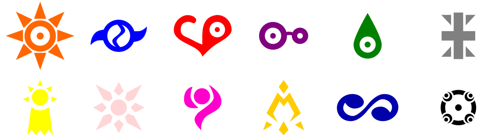 Digimon crest courage png. I ve traced these
