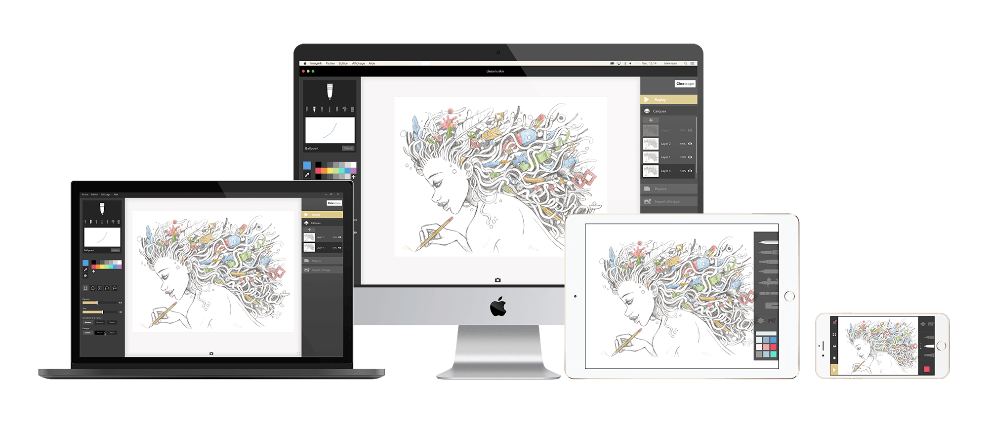 Digitizing drawing iskn. Is a revoultionary way