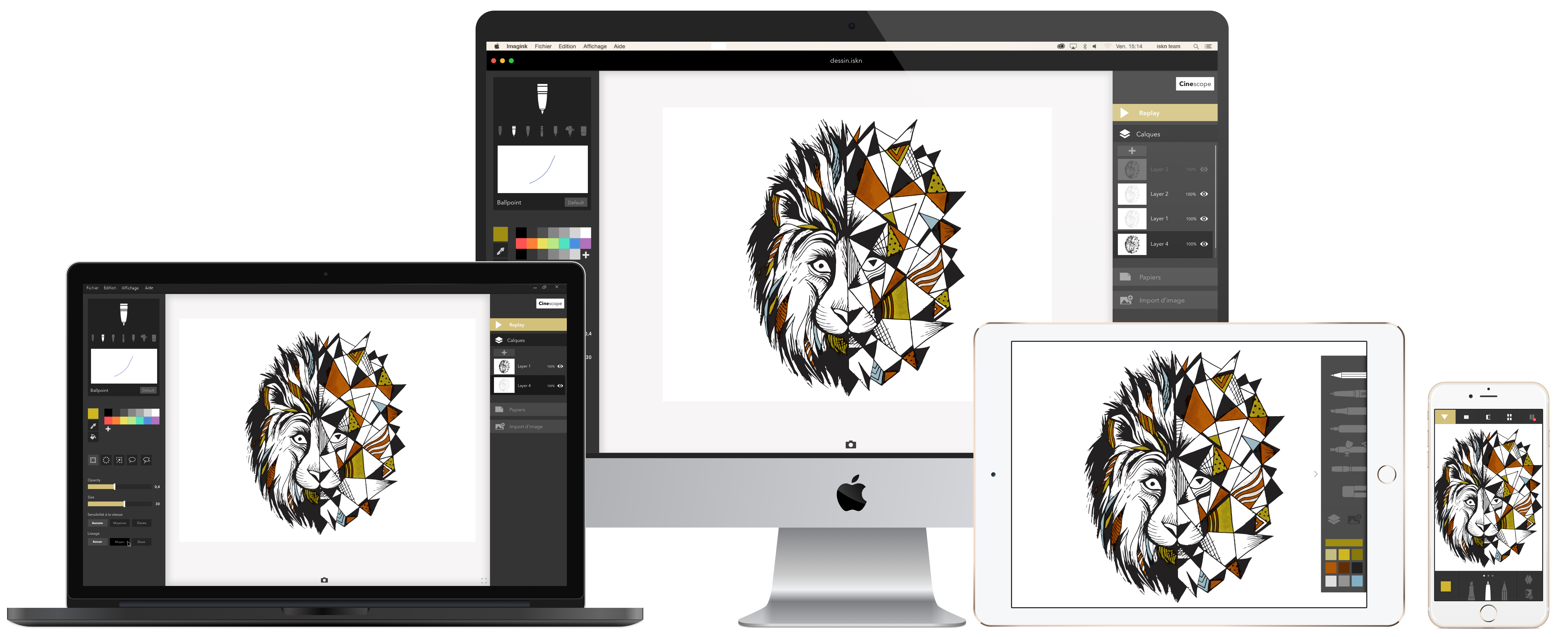 Digitizing drawing iskn. New beta is out