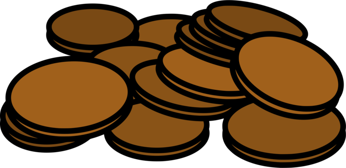 Lincoln cent coin penny. Dime clipart cartoon jpg library download