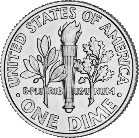 Dime clipart dime front back. On this day in