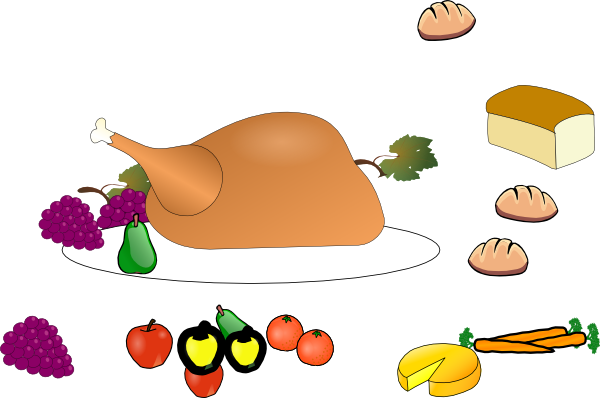 Feast clipart multicultural. Diner plate free on