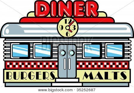 Cookout clipart diner food. Retro clip art harmony