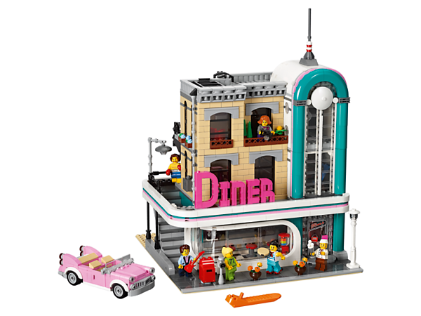 Diner drawing sims 4. Downtown creator expert lego