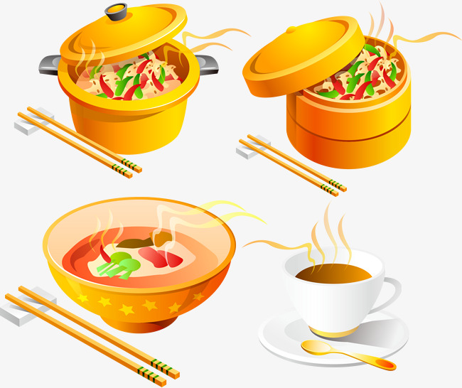 Dining clipart food catering. Tempting vector material creative