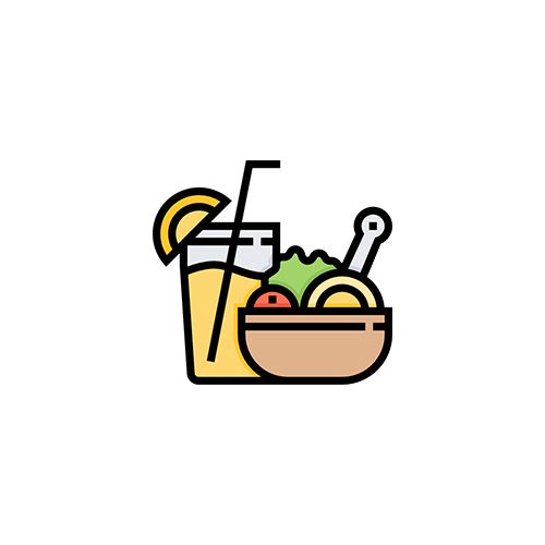 Dining clipart food top view. Michigan student meal plans