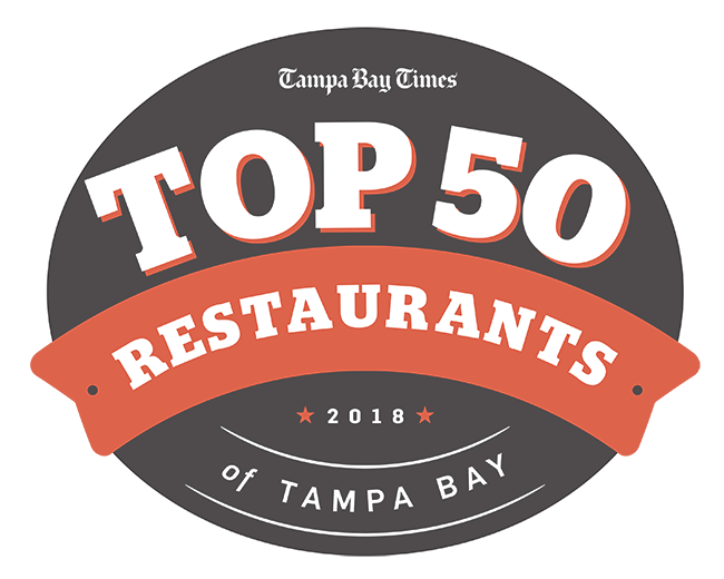 Armature drawing artichoke. Top restaurants of tampa