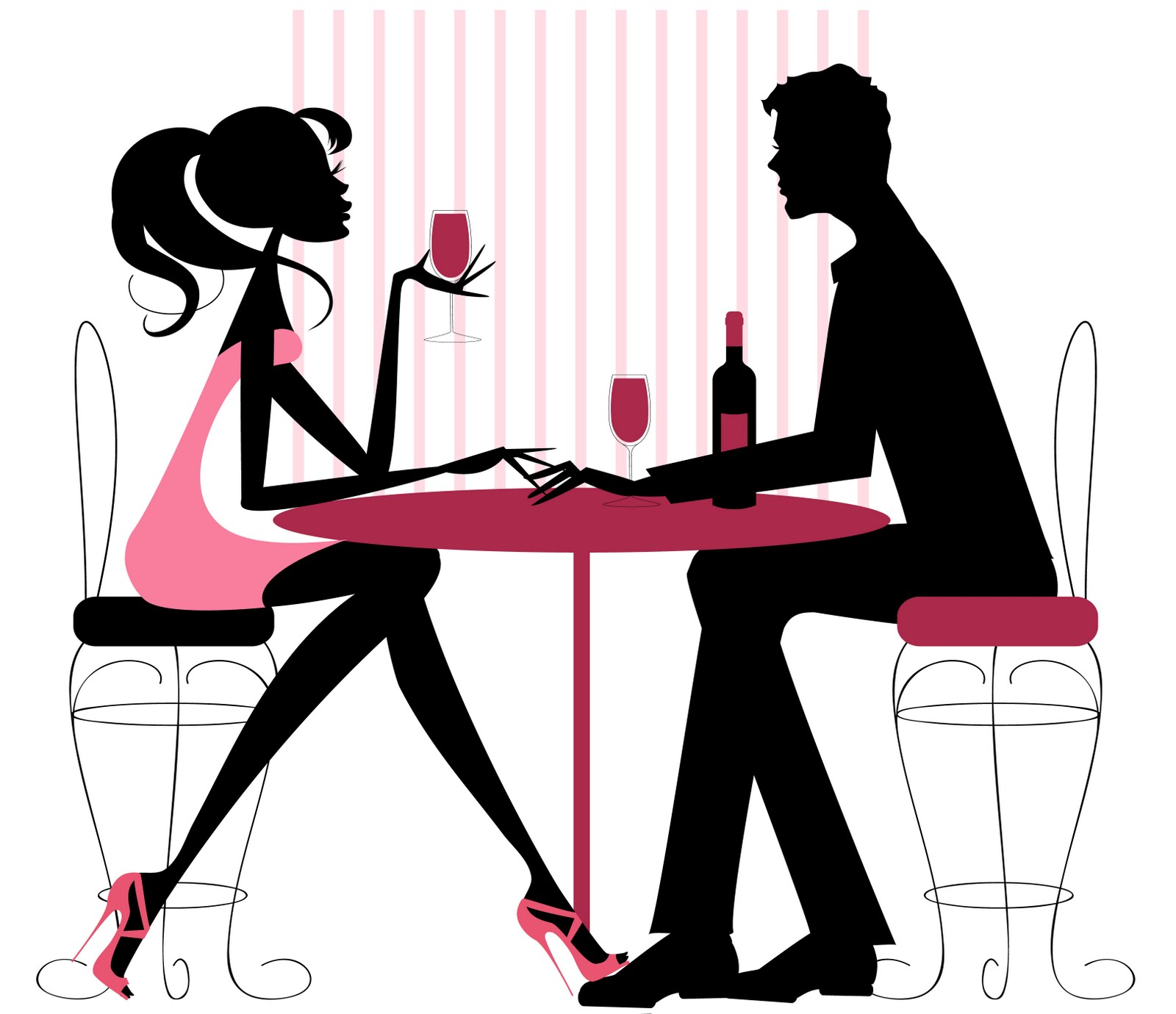 Dinner clipart couple dinner. Fall date night on