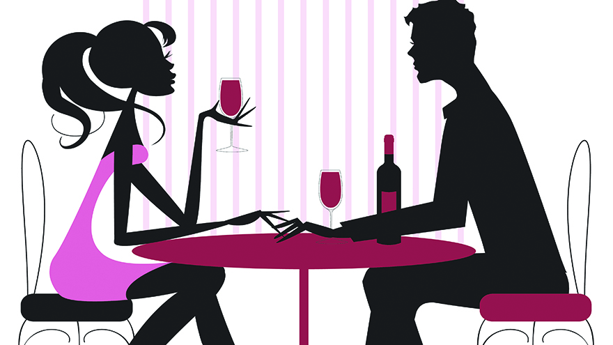 Dinner clipart couple dinner. Valentine a romantic story