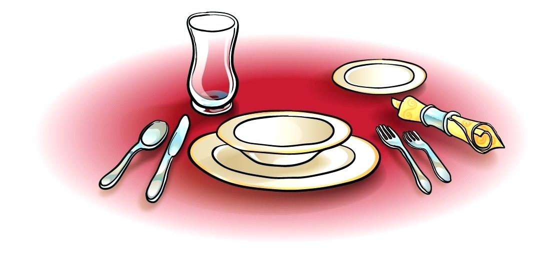 Clean and a movie. Dinner clipart dinner table clipart freeuse stock