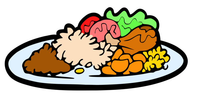Dinner vector board. Turkey meat thanksgiving day