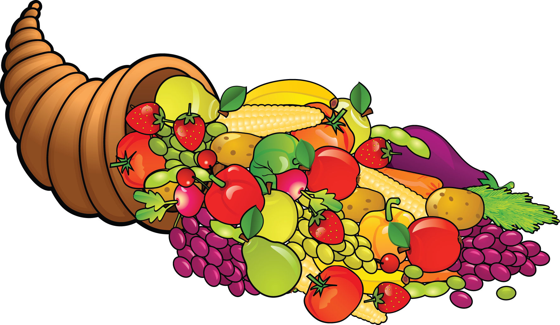 Foods clipart. Free happy cliparts download