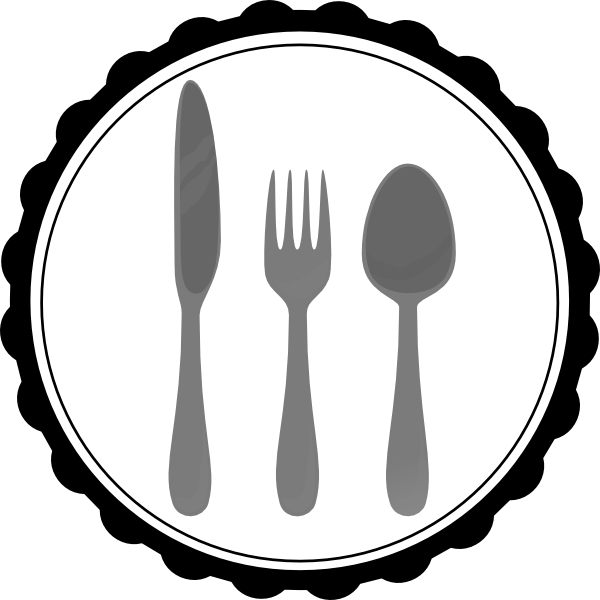 Dinner vector. Lunch clip art free