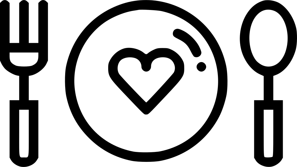 Dinner date png. Day food svg icon