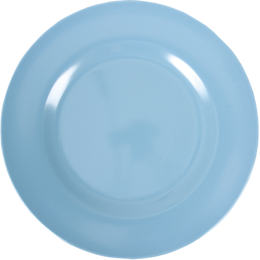 Dinner plate png. Turquoise melamine by rice