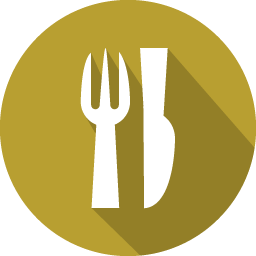 Dinner png. Icon flat iconset graphicloads