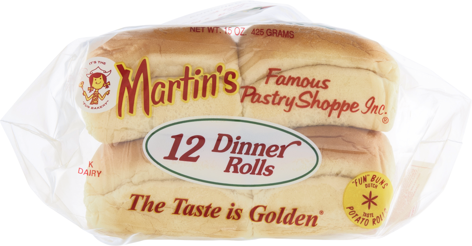 Dinner roll pack png