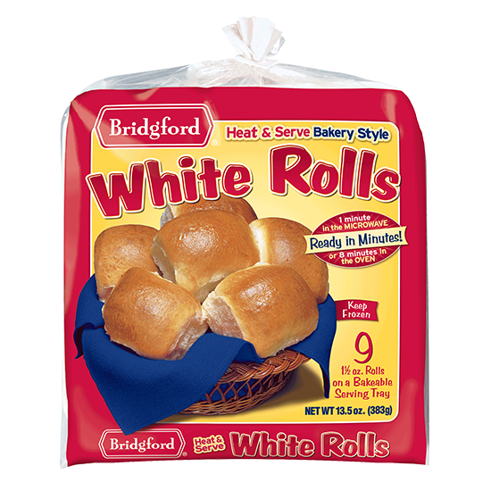 Dinner roll pack png. Bridgford bread and dough