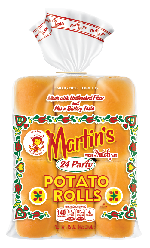 Dinner roll pack png. Party potato rolls products