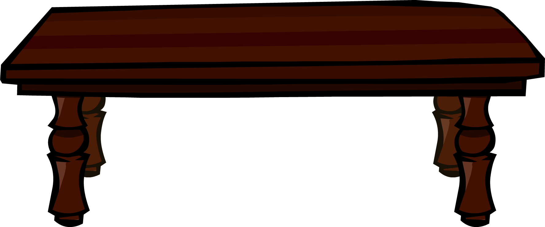 Dinner table png. Image rosewood club penguin png black and white library